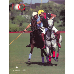 Polo Magazine April 1984