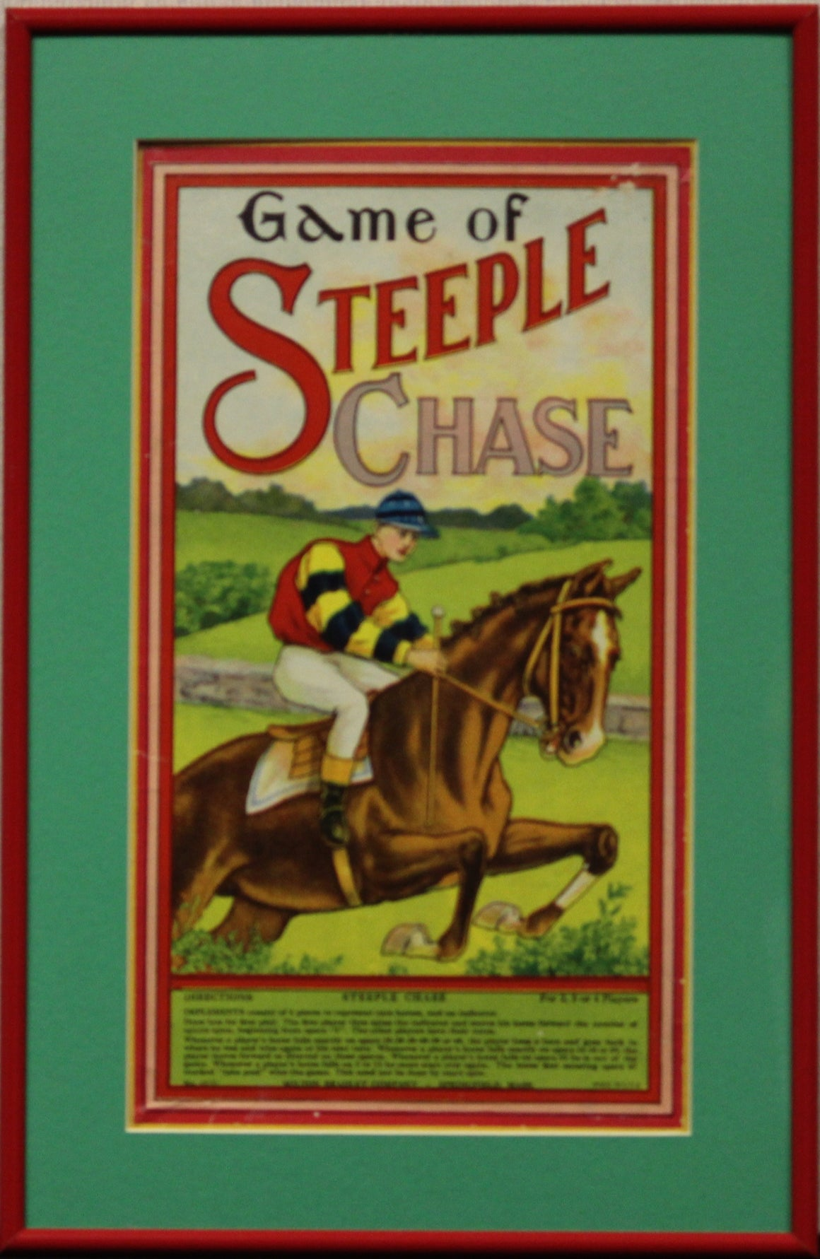 Game of Steeple Chase