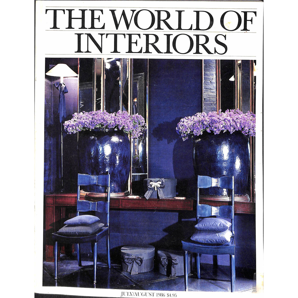 'The World of Interiors July/ August 1986'