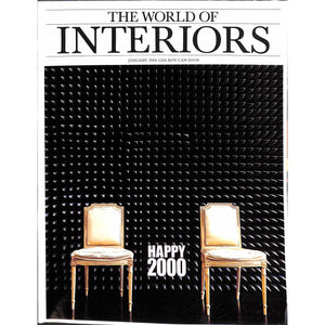 'The World of Interiors January 2000'