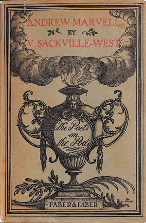 'The Poets On The Poets: Andrew Marvell' by Vita Sackville-West w/ Rex Whistler Jacket