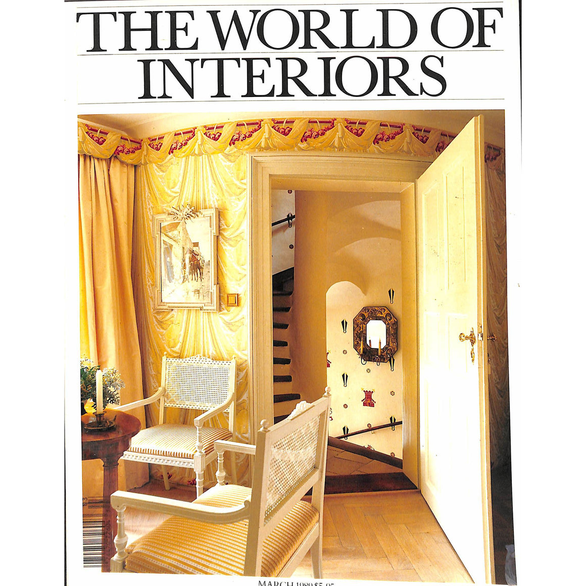 'The World of Interiors March 1989'