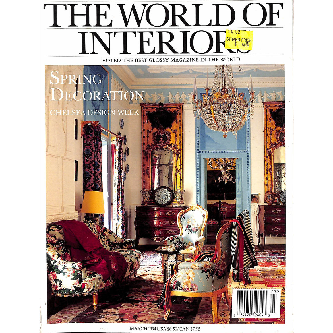 The World of Interiors March 1994