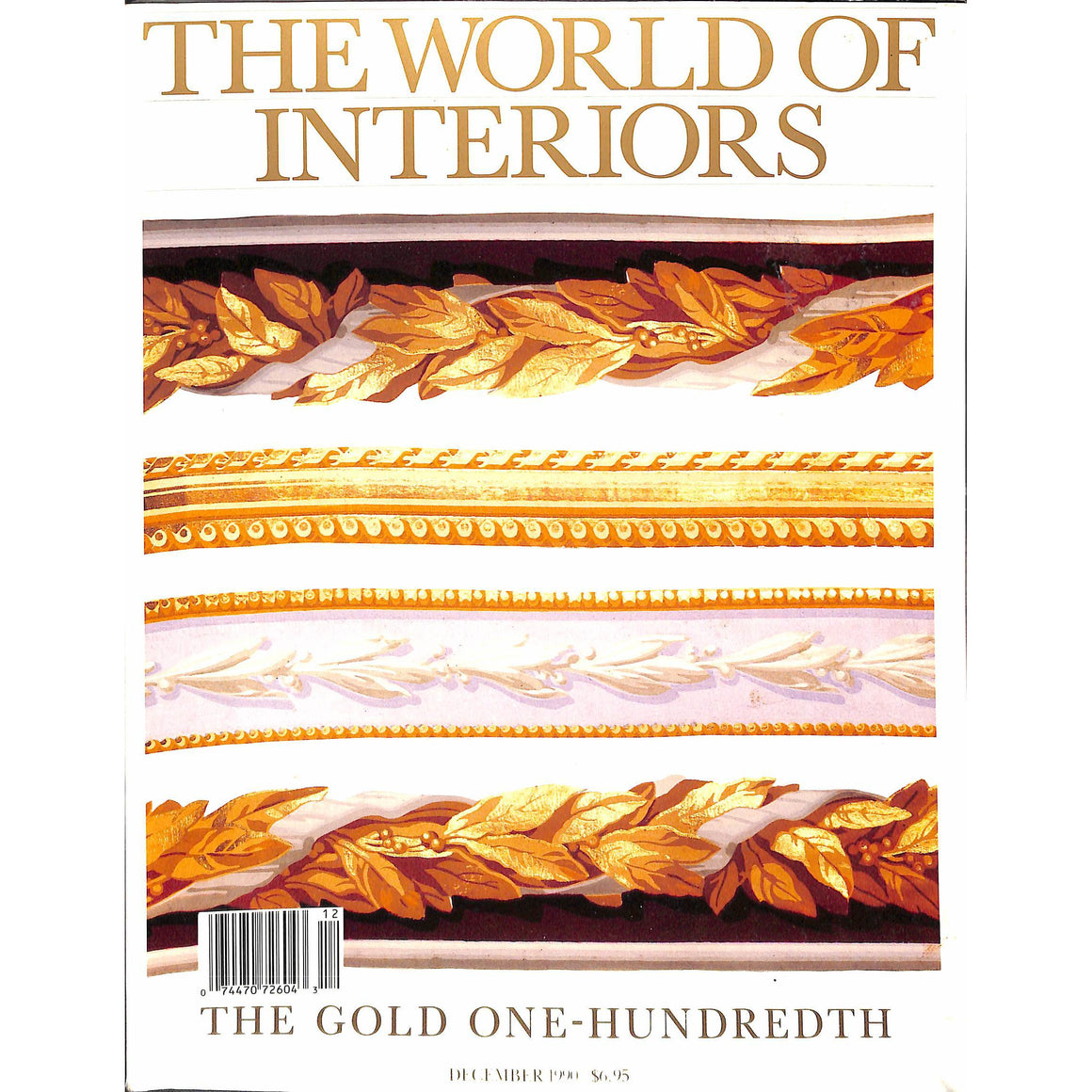 'The World of Interiors December 1990'