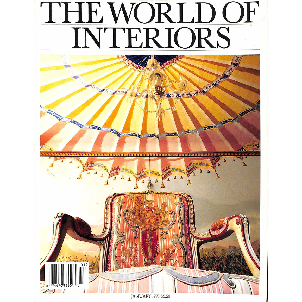 The World of Interiors January 1993 (SOLD!)