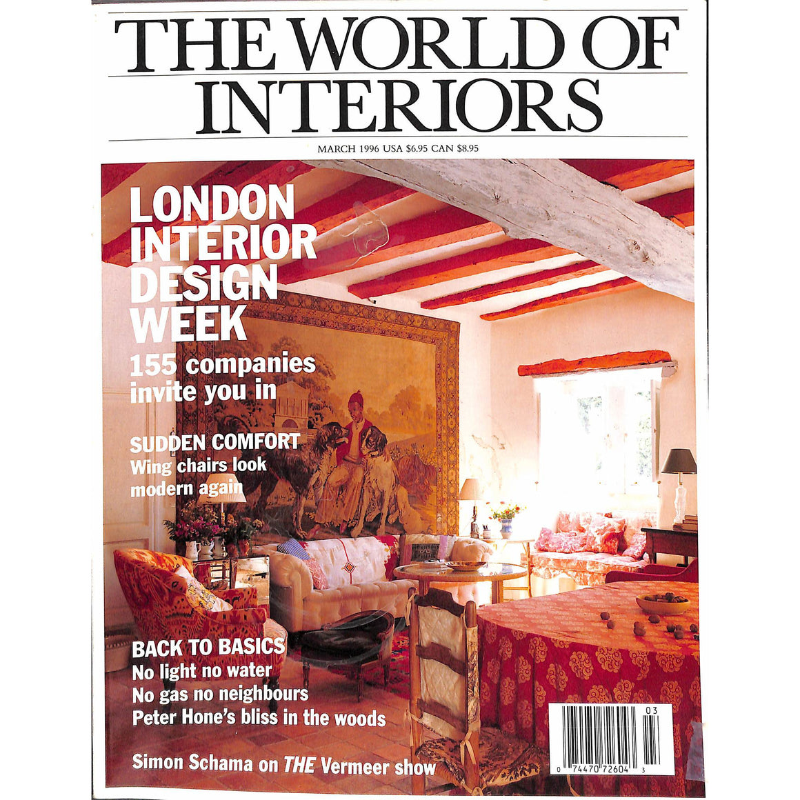 The World of Interiors March 1996