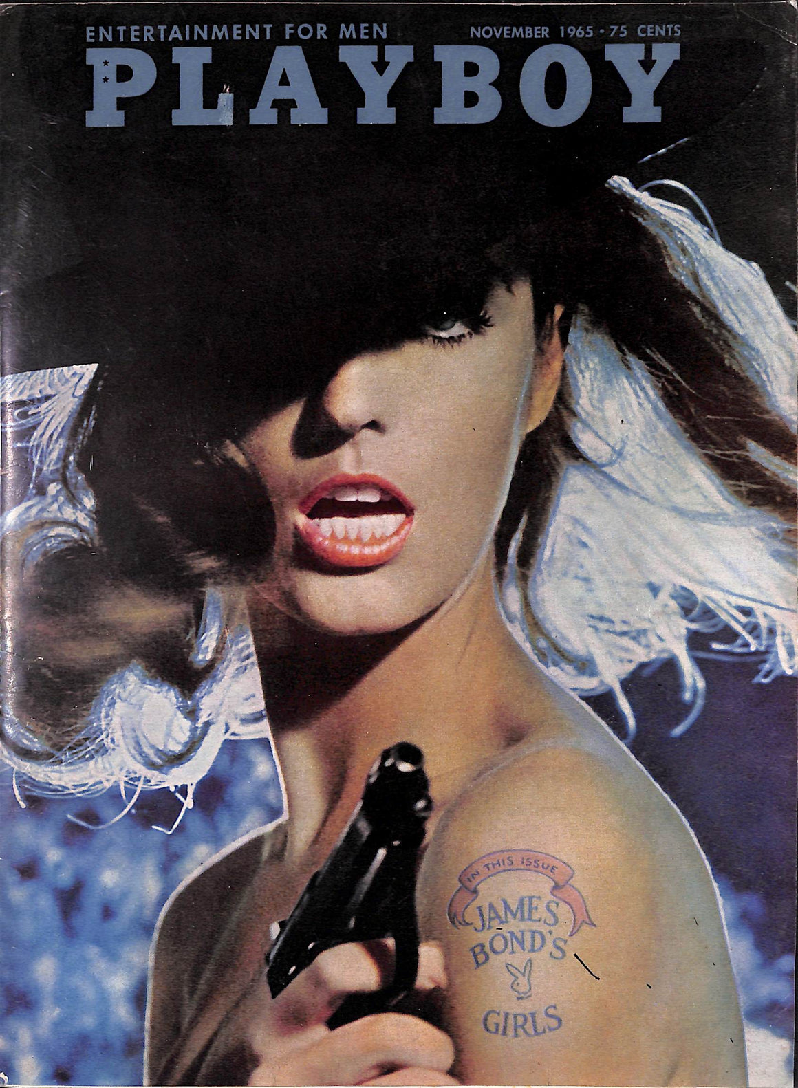 Playboy 'James Bond's Girls' Nov 1965 w/ Honor Blackman et al. (Sold!)
