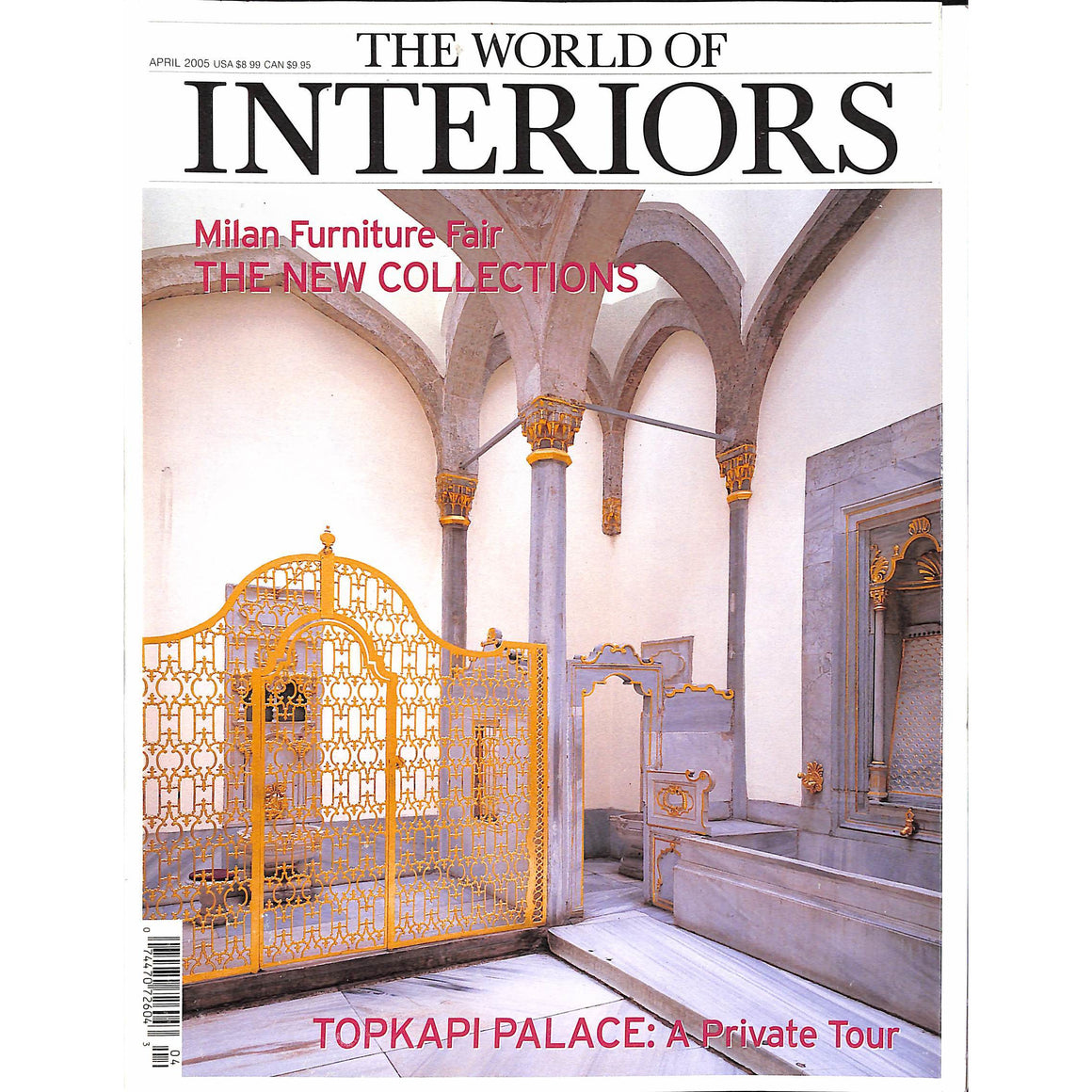 The World Of Interiors August 2001
