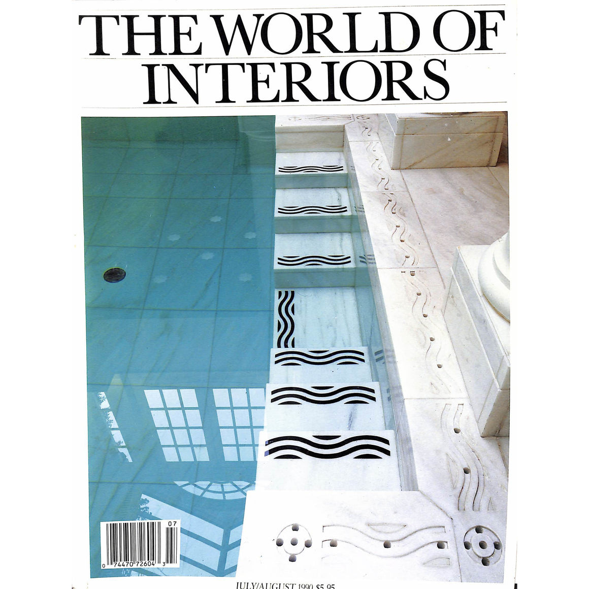 The World of Interiors July/August 1990