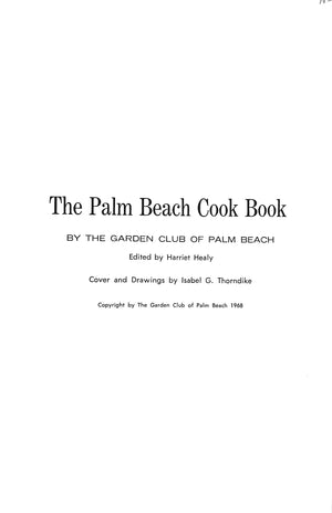 """The Palm Beach Cook Book"""