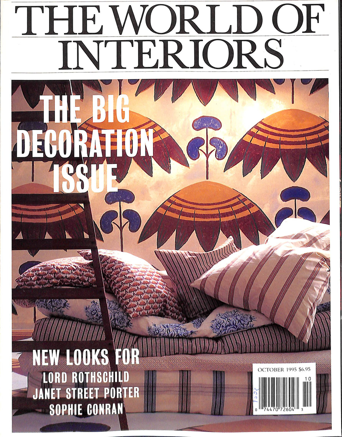 The World of Interiors: October 1995