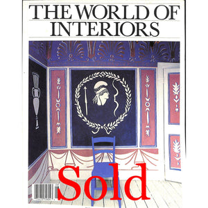 'The World of Interiors July/ August 1988'