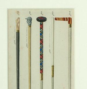 Five Gents French Walking Sticks