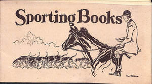 """Sporting Books"" c1930s Titles Prospectus by Charles Scribner's Sons"