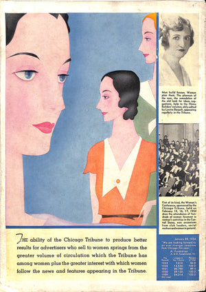 Paul Brown Polo Cover of Printers Ink Monthly April 1934