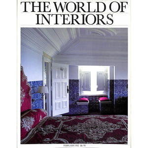 The World of Interiors February 1992 (Sold!)