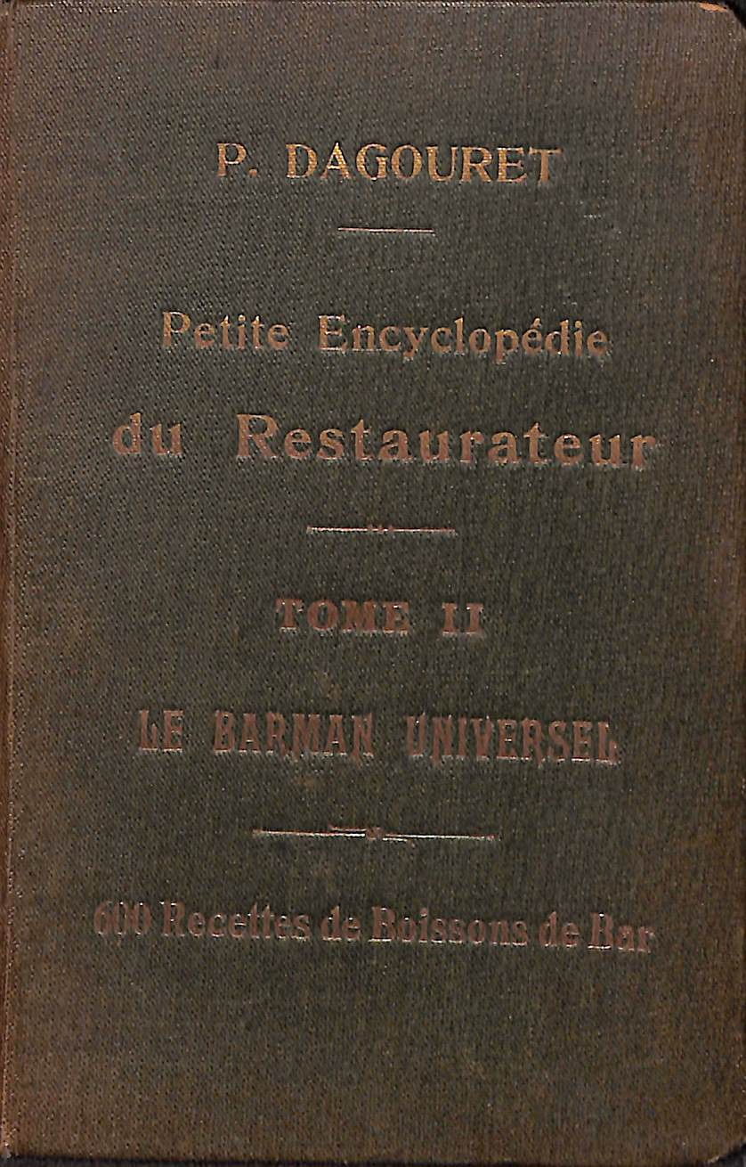 lPetite Encyclopedie du Restaurateur