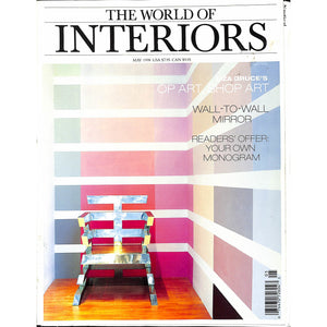 """The World of Interiors"" May 1998 (Sold!)"