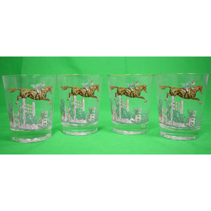 Set of 4 Show Jumper Glasses
