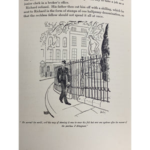 A Young Man Comes To London w/ Drawings by Cecil Beaton