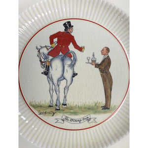 'Set of 5 Huntsman Ridgways Old Ivory Bedford Ware China Plates' by Cyril Gorainoff'