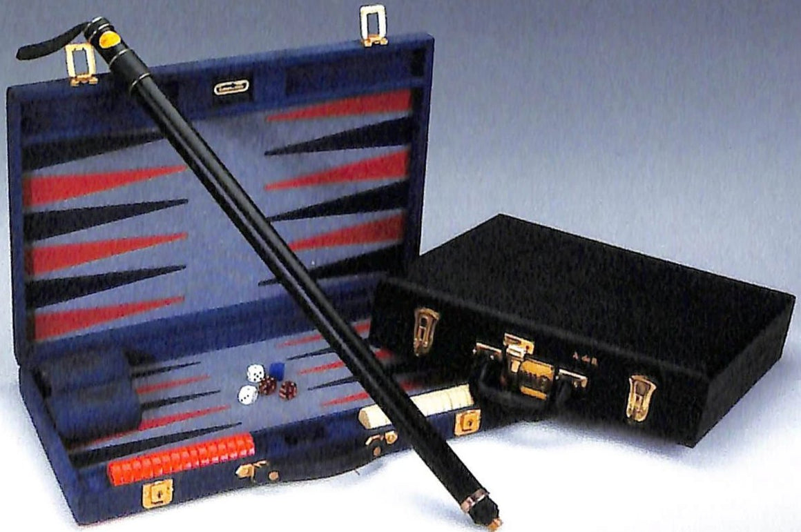 Sotheby's Paris 2005 'The Baron de Rede's Aries Denim Backgammon Case'