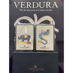 Verdura Twin Sealed Deck of Boxed Playing Cards