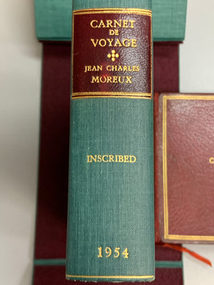 """Carnet de Voyage"" 1954 (Inscribed by Sister Parish to Jane Engelhard)"