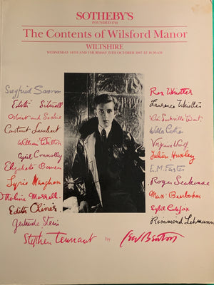 Sotheby's 1987 'The Contents of Wilsford Manor' Wiltshire