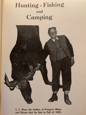"""L.L. Bean Hunting-Fishing and Camping"" 1942"