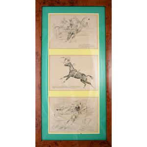Virginia Gold Cup 1931/ Llangollen Farms 1932/ & National Horse Show 1932 Triptych I