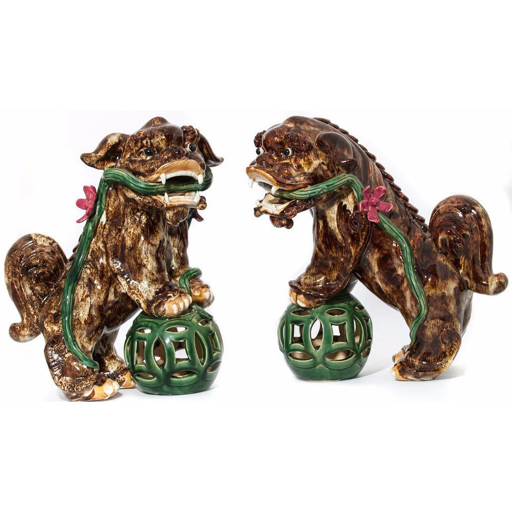 Chinoiserie Foo Dogs