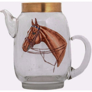 Abercrombie & Fitch Horse Head Cocktail Pitcher by Cyril Gorainoff