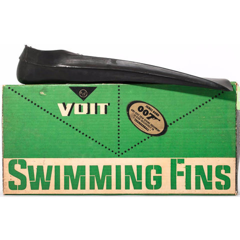 Amazing 'Thunderball' Voit swimming fins- as new in box!~