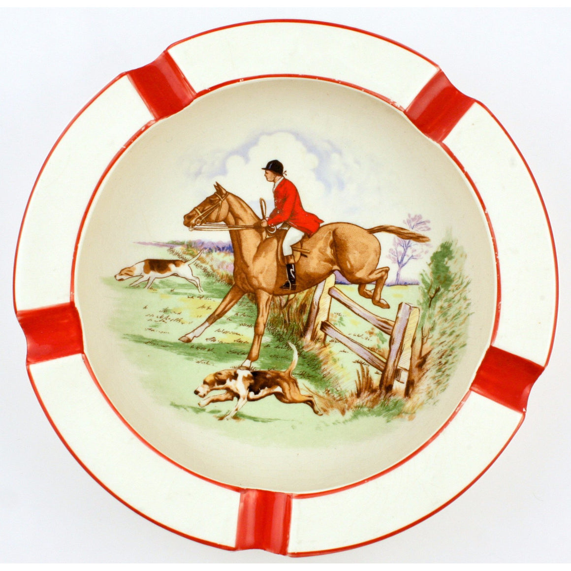 Fox Hunter Ashtray