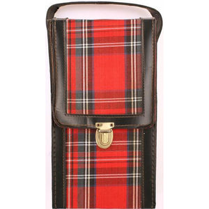 Scotch Plaid Bar Tote Set
