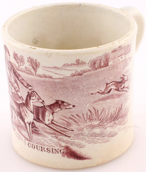 Coursing Porcelain Shaving Mug