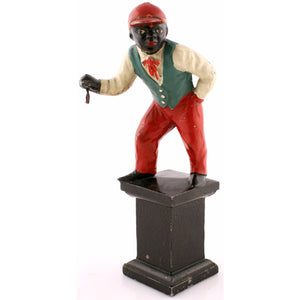 Iron Jockey Doorstop