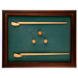 Tilt Top Miniature Billiard Table