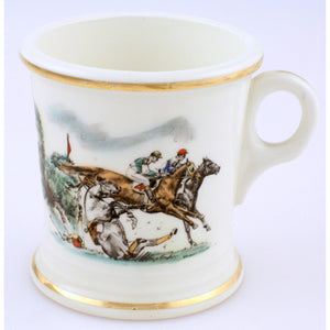 English Porcelain Shaving Mug