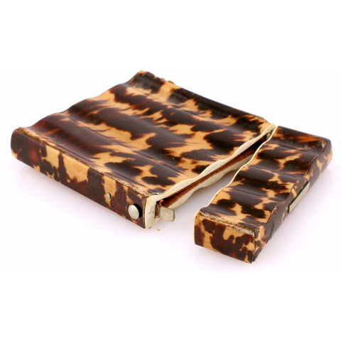 """Tortoise Shell Cigarette Case"""