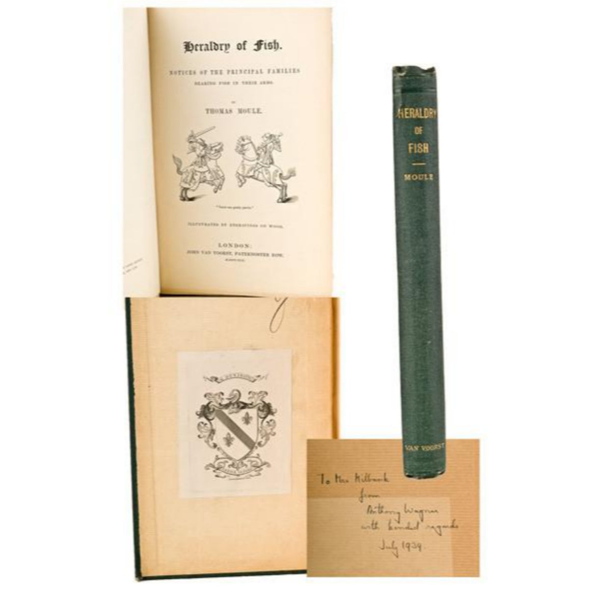 Heraldry of Fish: Notices of The Principal Families 1842 by Thomas Moule