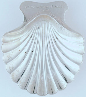 Tiffany & Co Sterling Scallop Shell Tray