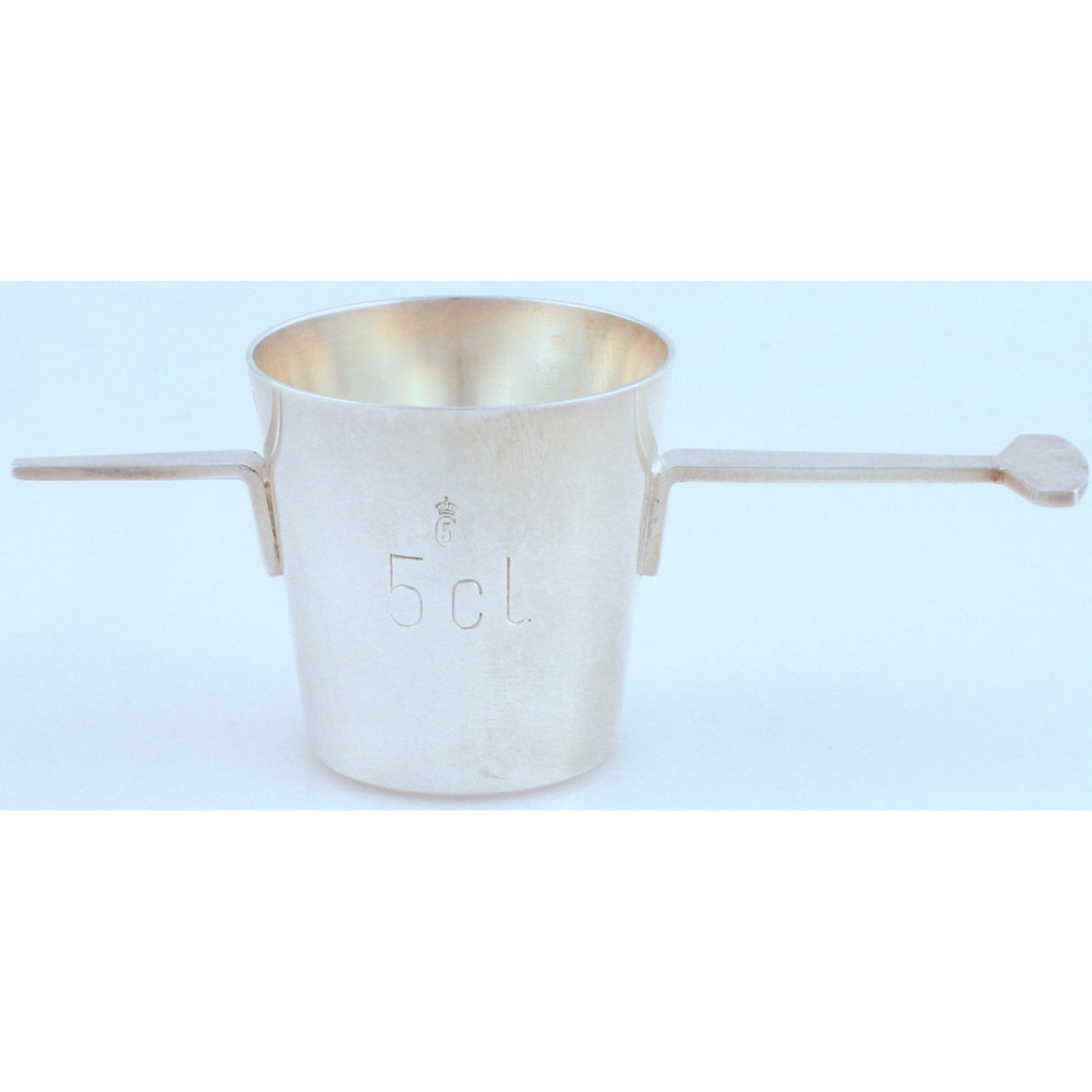 Danish Chrome Drinks Measuring Cup