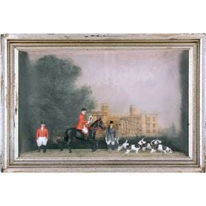 Britains Castle Ashby Fox Hunt Diorama