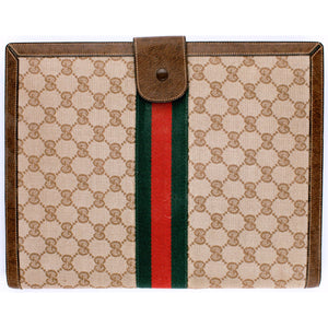 Gucci Signature Tote/Folio