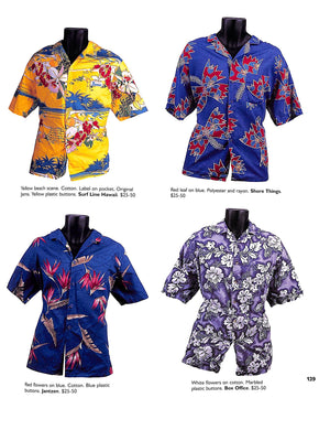 """Hawaiian Shirts: Dress Right for Paradise"" SCHIFFER, Nancy N."
