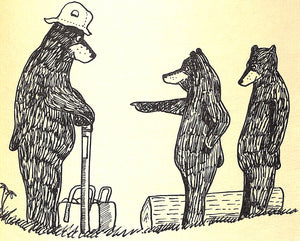 """The Bear with The Orvis Rod"" READ, A.D."