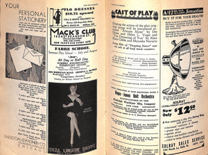 The Playgoer: The Magazine of The Theatre