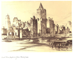 """New York: 1929-1932: Reaching for the Sky: Drawings and Prints"" FREEMAN, Mark"